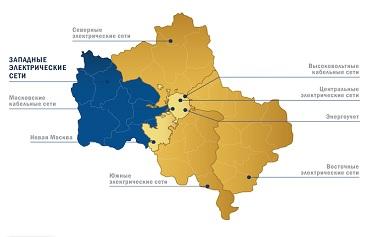 Западные электрические сети